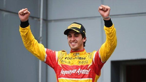 GP2 ve Spa: Sprint ovládl Giovinazzi