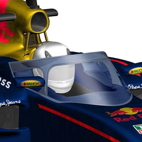 Red Bull zítra otestuje svůj ochranný oblouk