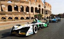 Formule E ve výstavní čtvrti