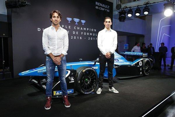 Renault e.dams mění ve Formuli E barvy