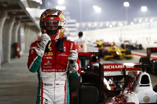 F2: Sprint v Bahrajnu ve znamení Leclercovi famózní jízdy