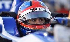 Andretti vyzkouší Hertu juniora