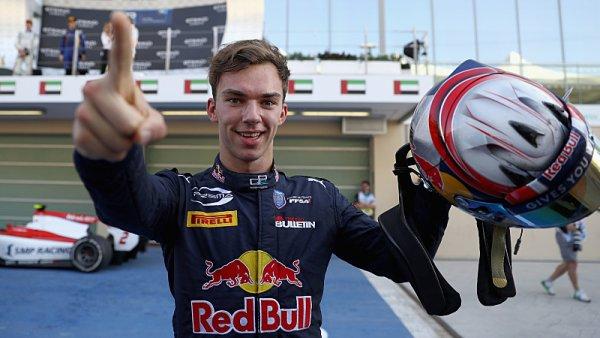 """Pierre Gasly: """"V GP2 jsem prožil krásné časy"""""""