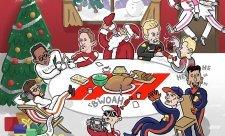 Tajný Santa řádil ve F1