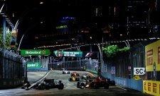 Velká cena Singapuru pohledem Pirelli