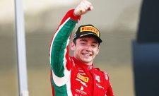 Leclerc zvítězil i v posledním závodě sezony