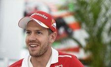 Vettel: Bottas nechtěl zmizet ze zrcátek