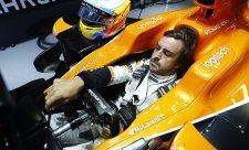 Alonso: Postrádali jsme rychlost