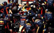 Náhradní díly chybějí také Red Bullu