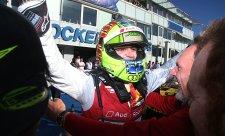 Greenovo třetí vítězství v sezoně, Audi má titul v kapse