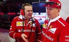 Räikkönenův závodní inženýr odešel z Ferrari