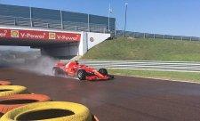 Ferrari testuje pro Pirelli