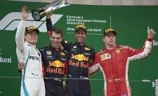 Ricciardo využil k vítězství chytrý tah Red Bullu