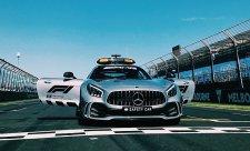 Mercedes představil nejrychlejší safety car