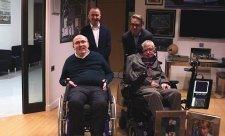 Stephen Hawking nedávno navštívil Williams
