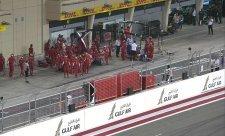 Mechanik Ferrari je po operaci