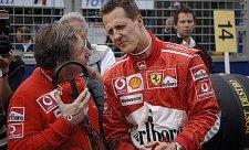 Todt sledoval VC Brazílie se Schumacherem