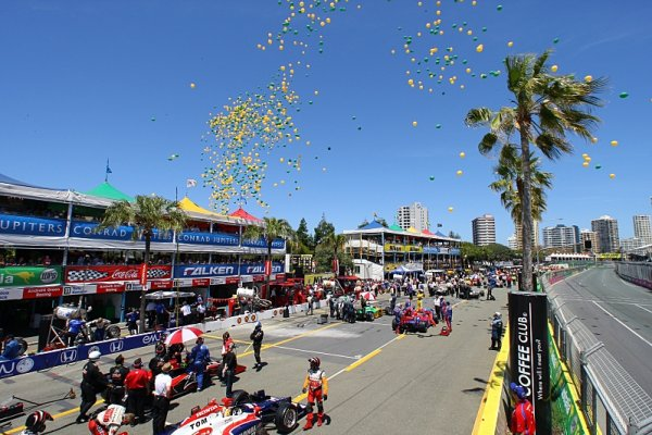 Australské Gold Coast chce zpět závod IndyCar