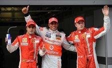 Massa: Hamilton je na úrovni Senny a Schumachera