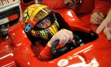 Valentino Rossi zakončil své dvoudenní testování formule 1