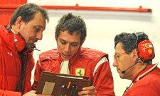 Valentino Rossi je nadšený ze své rychlosti