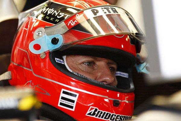 Schumacher se omluvil Barrichellovi za svůj manévr
