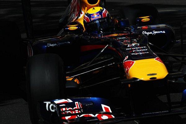 Čtyřikrát zpomalený závod přinesl double Red Bullu