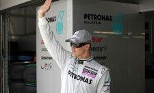 Schumacher už je za zenitem, říká Stirling Moss
