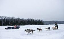 Buemi prohnal vůz Red Bullu po montrealském ledě