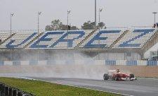 Test mokrých pneumatik Pirelli přesunut na dnešek