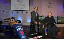 Frank Williams hospitalizován