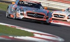 Okruh v Silverstone stáji Gravity-Charouz štěstí nepřinesl