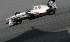 Sauber už napodruhé první letošní body získal