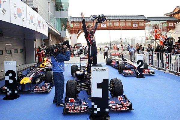 Vettel podtrhl titul vítězstvím v Koreji