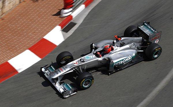 Na Monako bude chtít Mercedes co nejdříve zapomenout