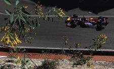 V úvodní čtvrteční rozcvičce Vettel na závěr porazil Alonsa