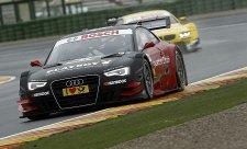 Také ve druhém tréninku na čele Audi, tentokrát s Mortarou