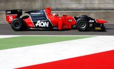 Max Chilton odstartuje do hlavního závodu z pole position