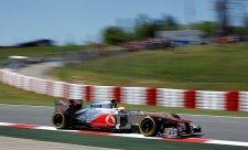 Na pole position Hamilton, Maldonado s williamsem druhý!
