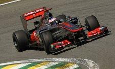 McLaren nadále v čele, Hamiltona vystřídal Button