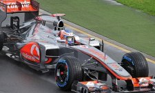 Na úvod sezóny v tréninku nejrychlejší Button