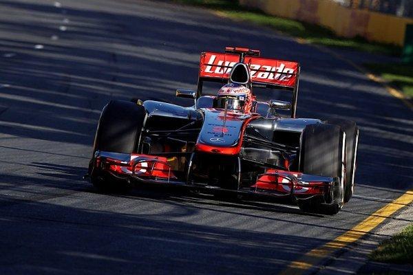 Jenson Button vyhrál potřetí v Melbourne