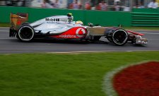 Lewis Hamilton na čele třetího tréninku