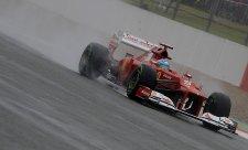 Alonso vítězem suchého závěrečného tréninku