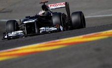 Maldonado si z Belgie odváží dvojitou penalizaci