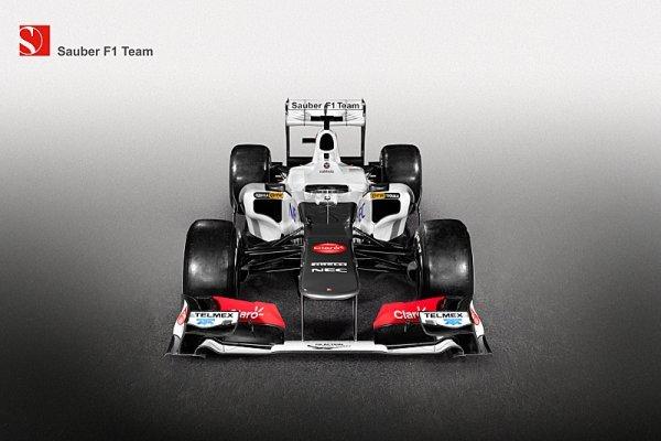 Sauber rozpůlil vůz Formule 1