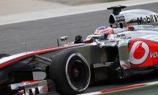 McLaren bez titulárního sponzora