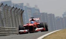 Ferrari zásluhou Alonsa opět nejrychlejší
