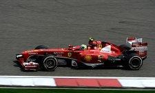 Ve druhém tréninku se blýskl nejlepším časem Massa