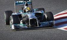 Mercedes díky Hamiltonovi na čele